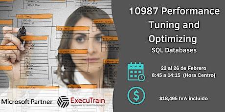 Curso 10987 Performance Tuning and Optimizing SQL Databases entradas