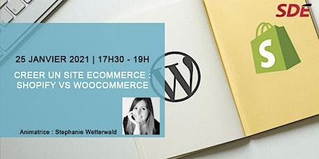 Créer un site ecommerce  : Shopify vs Woocommerce billets