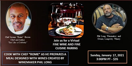VIRTUAL WINE AND CHEF EXPERIENCE tickets