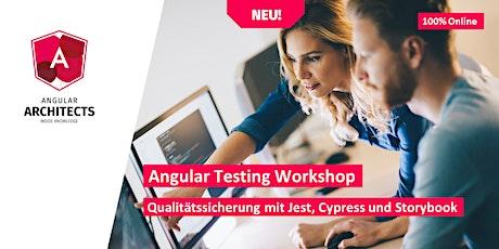 Angular Testing Workshop (Advanced, Deutsch, 100% Online) biglietti