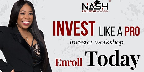 Invest like a Pro tickets