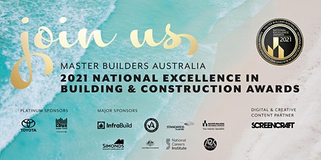 2021 National Excellence in Building & Construction Awards tickets