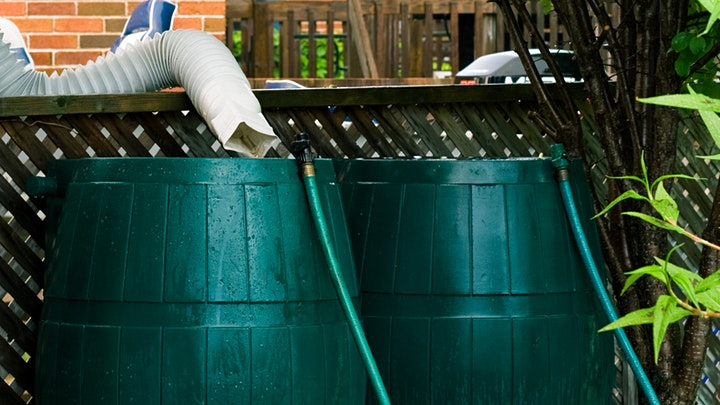 DIY Rainwater Harvesting Workshop and Barrel Sale image