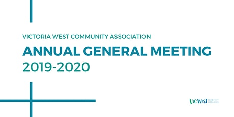 Victoria West Community Association Annual General Meeting tickets
