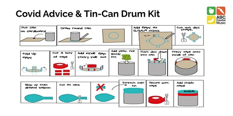 Covid Advice + Tin-Can Drum Kit tickets