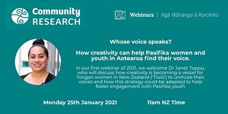 Whose voice speaks?  Tongan Creativity in Aotearoa tickets