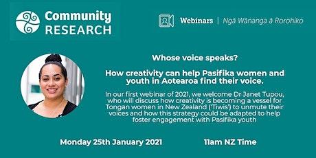 Whose voice speaks?  Tongan Creativity in Aotearoa tickets