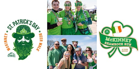 4th Annual McKinney St. Patrick's Day Shamrock Run 5K & Craft Beer Walk tickets