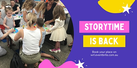 Storytime  - MONDAY tickets