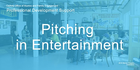 Pitching in Entertainment with Giulia Caruso and Ki Jin Kim tickets