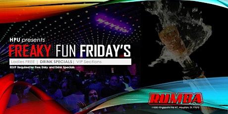 Freaky Fun Friday's tickets