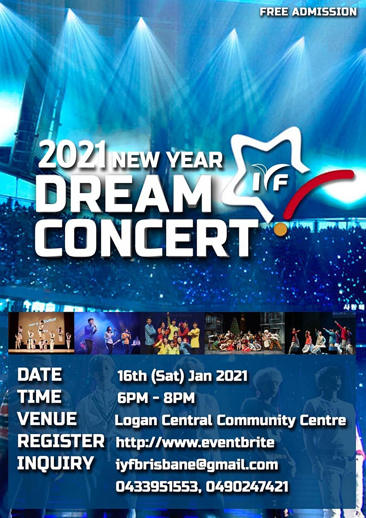 2021 NEW YEAR DREAM CONCERT image