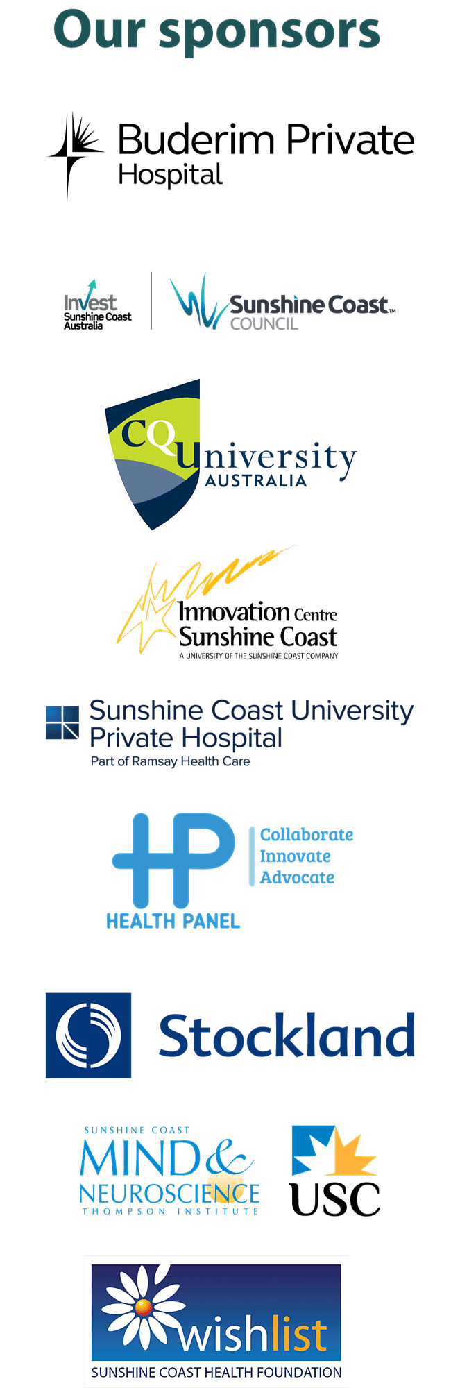 Sunshine Coast Health Symposium image