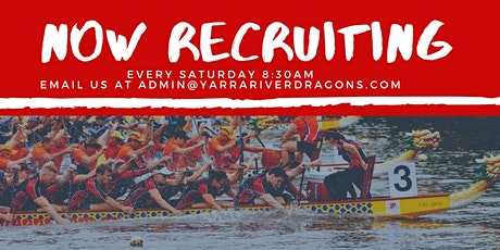 Introduction to Dragon Boat Racing Course: Free event tickets