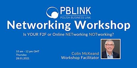 PBLINK Networking Skills Workshop tickets