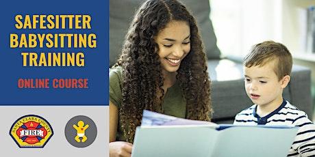 ONLINE SafeSitter Babysitting Training Course $45 tickets