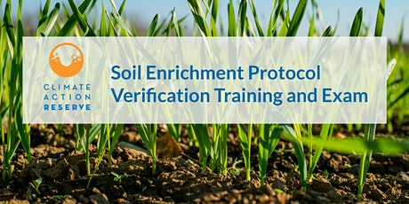 Soil Enrichment Protocol Verification Training and Exam tickets