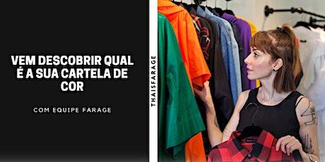 Vem descobrir sua cartela de cor em São Paulo - Janeiro 2021 ingressos