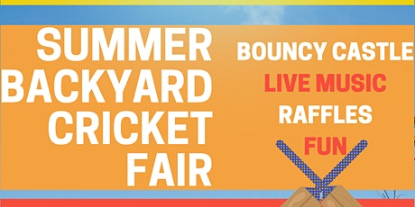 Backyard Cricket Bash - A Taranaki Retreat Fundraising Event tickets