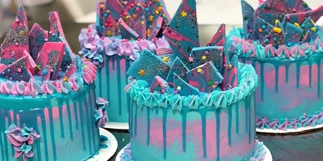 Valentine's Day Ombre Drip Cake Class at Fran's Cake and Candy Supplies tickets