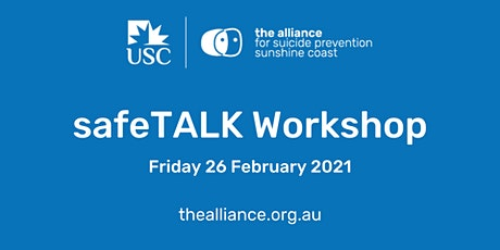 safeTALK suicide-alertness workshop Feb 2021 tickets