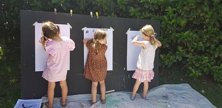 Little Creatives:  Art Classes for Preschoolers (Friday) image