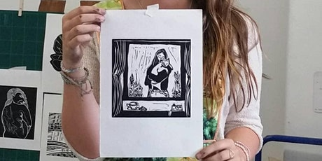 How to Make Beautiful Lino prints. tickets