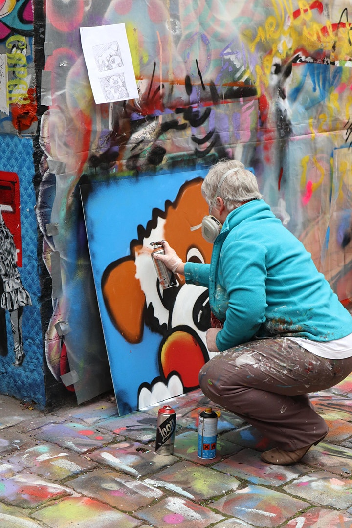 Freehand Street Art Workshop image