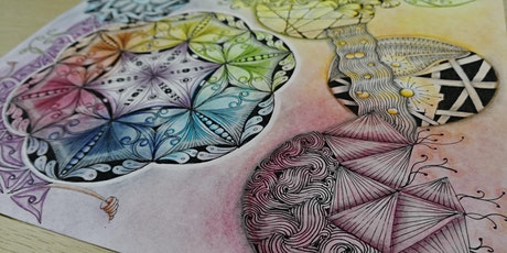 Zentangle Art Course starts  Jan 27  (8 sessions) tickets