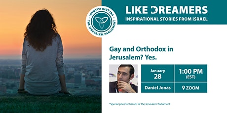 Gay and Orthodox in Jerusalem? Yes. tickets