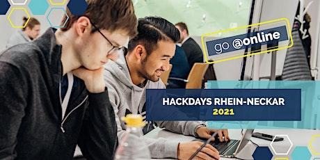 Hackdays Rhein-Neckar 2021 Tickets