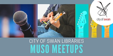 Midland Library Muso Meetups (Fridays) tickets
