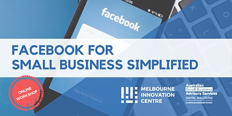 Facebook for Small Business Simplified tickets