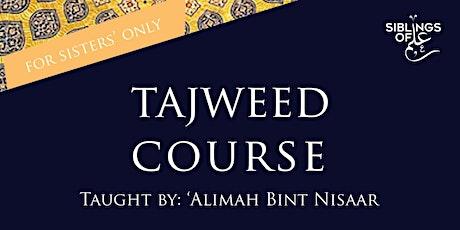 Sisters' Tajwīd Course tickets
