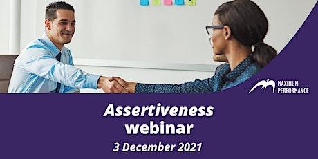 Assertiveness (3 December 2021) tickets