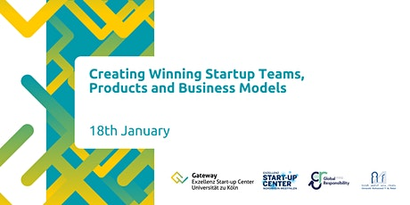 Creating Winning Startup Teams, Products and Business Models tickets