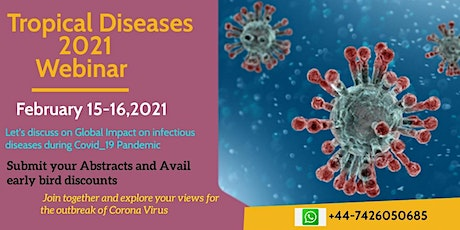10th International Conference on Tropical Medicine and Infectious Diseases tickets
