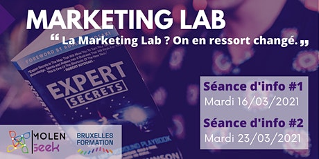 "MARKETING LAB 5 [Séance d'info] ""La Meilleure formation Marketing Digital"". entradas"