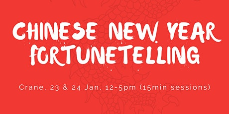 Chinese New Year Fotunetelling with Serena! tickets