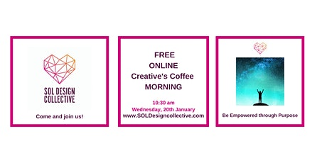 Online Creative's Coffee Morning: Be Empowered Through Purpose tickets