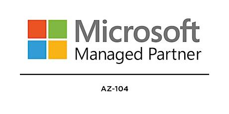 AZ-104: Microsoft Azure Administrator tickets