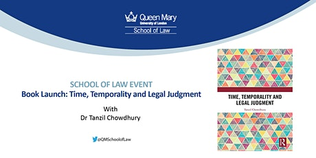 Book Launch: Time, Temporality and Legal Judgment tickets