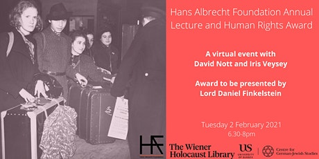 Virtual Event: Hans Albrecht Foundation Annual Lecture & Human Rights Award tickets