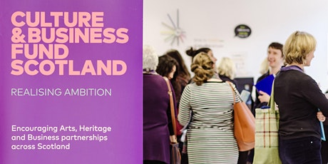 Culture & Business Fund Scotland Roadshows: I (Cancelled) tickets