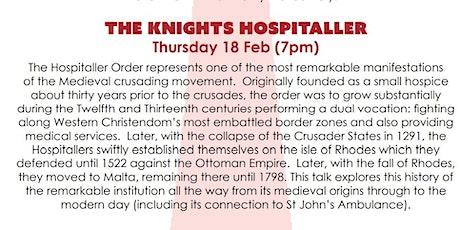 ONLINE TALK - The Knights Hospitaller tickets