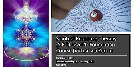Spiritual Response Therapy (S.R.T) Level 1: Foundation Course (Virtual via tickets