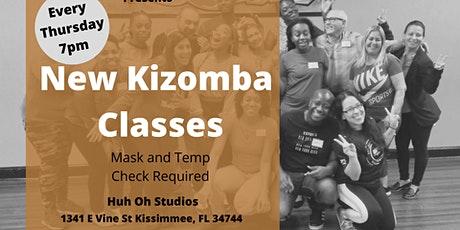 New Kizomba Classes tickets