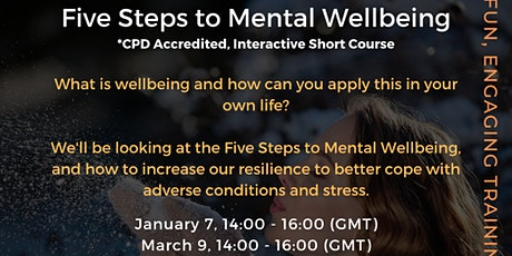 Five Steps to Mental Wellbeing tickets