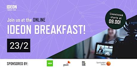 Ideon Breakfast Online tickets