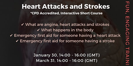 Heart Attacks and Strokes tickets